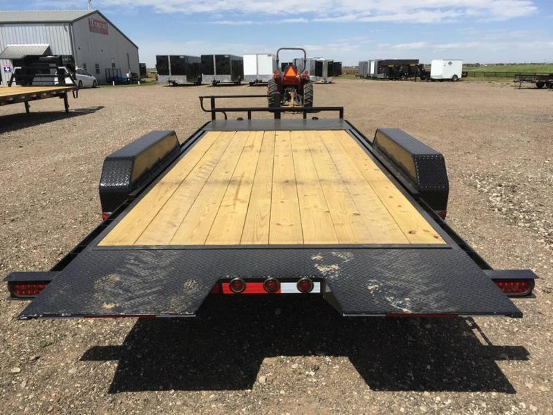 2021 83X20 Buck Dandy (14K) Wood Floor Tilt Trailer