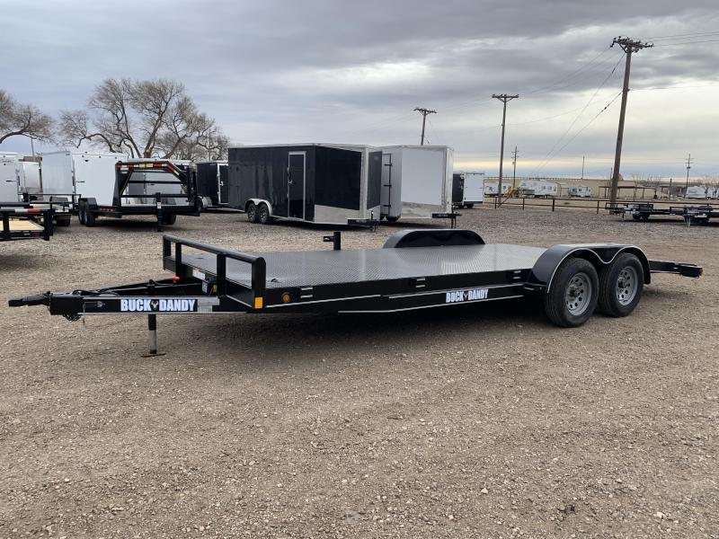 2021 83X20 Buck Dandy Steel Floor Car Hauler