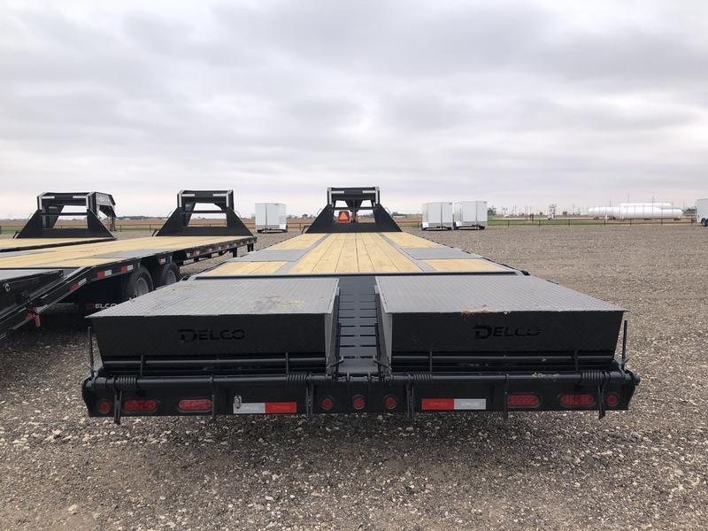 2021 Delco Trailers 102X32 (24K) Tandem Dual Gooseneck Equipment Trailer