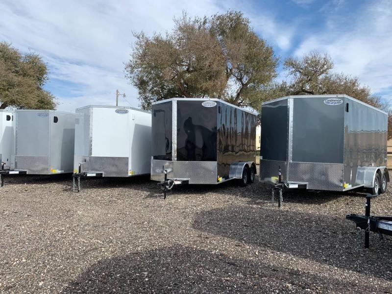7X12X7 Tandem Axle Enclosed Cargo Trailer