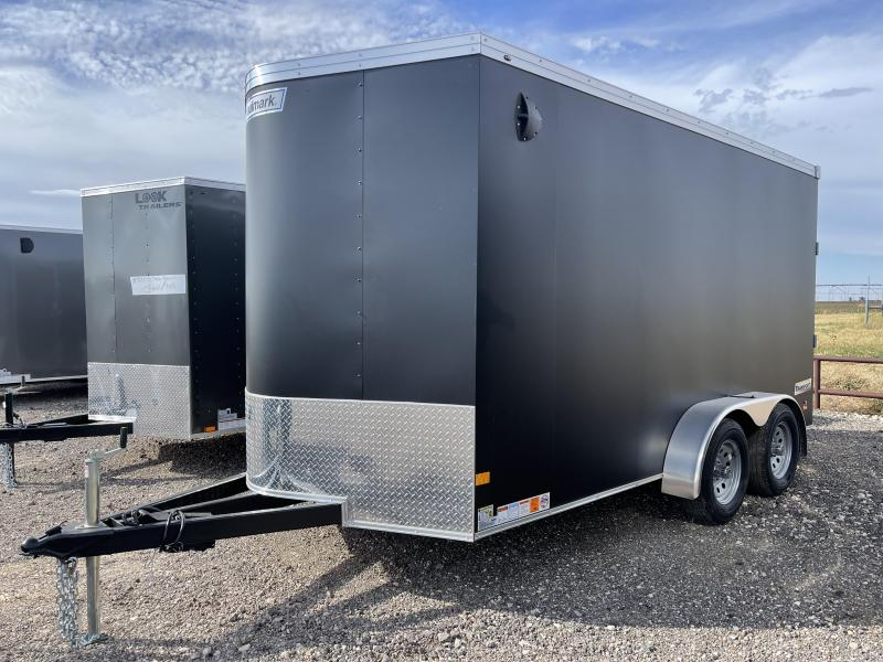 2022 Haulmark Transport Matte Black Enclosed Cargo Trailer