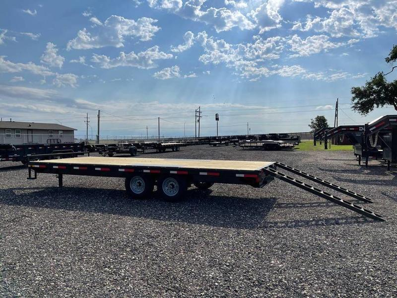 """East Texas Trailers 102X24 (14K) Deck-Over - 10"""" Frame"""