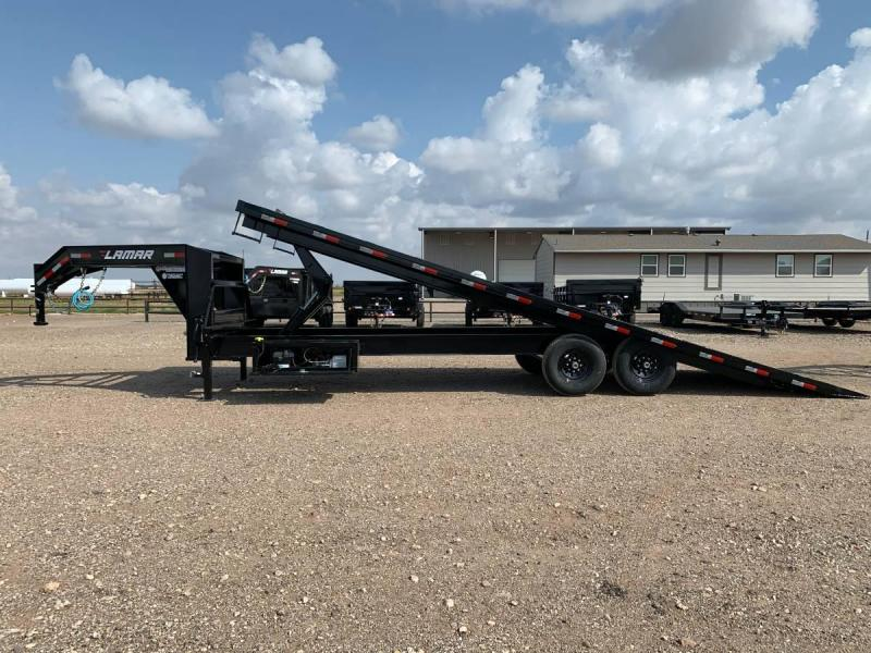 2021 Lamar Trailers 102X26 (14K) Full Powered Deck-Over Tilt Equipment Trailer