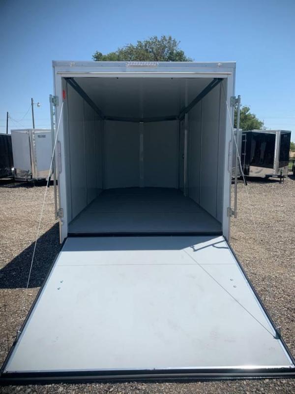7X16X6.5 Continental Cargo (7K) Steel Enclosed Cargo Trailer w/ Ramp Door