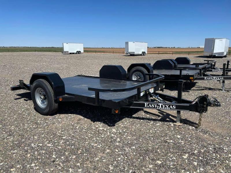 2021 East Texas 80X12 Scissor Hauler Utility Trailer
