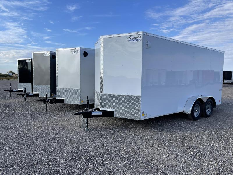 7X16X6.5 Tandem Axle Enclosed Cargo Trailer