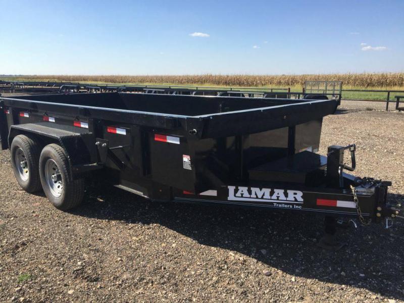 Lamar Trailers 83X12 (14K) Dump Trailer