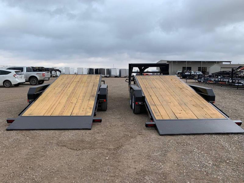 2021 83X20 Buck Dandy (16K) Wood Floor Tilt Trailer