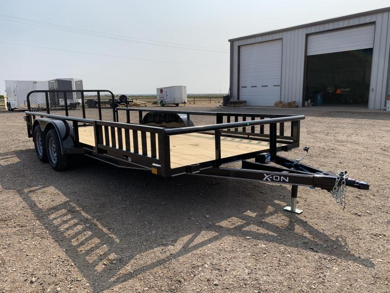 2021 83X20 X-ON Utility w/Side Ramp Rails