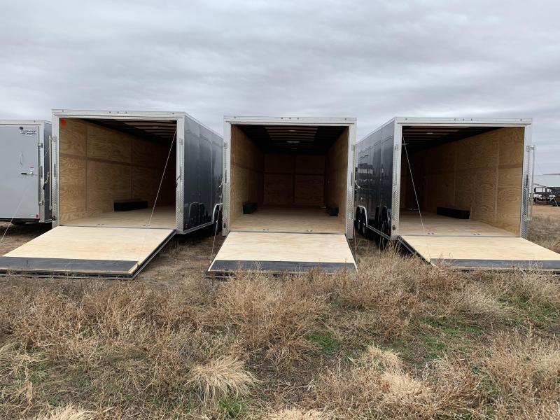 2021 8.5X24X7 Forest River Continental Cargo Enclosed Cargo Trailer / Car Hauler