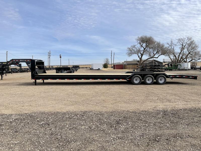 2021 Delco Trailers 102X40 (21K) Gooseneck Equipment Trailer