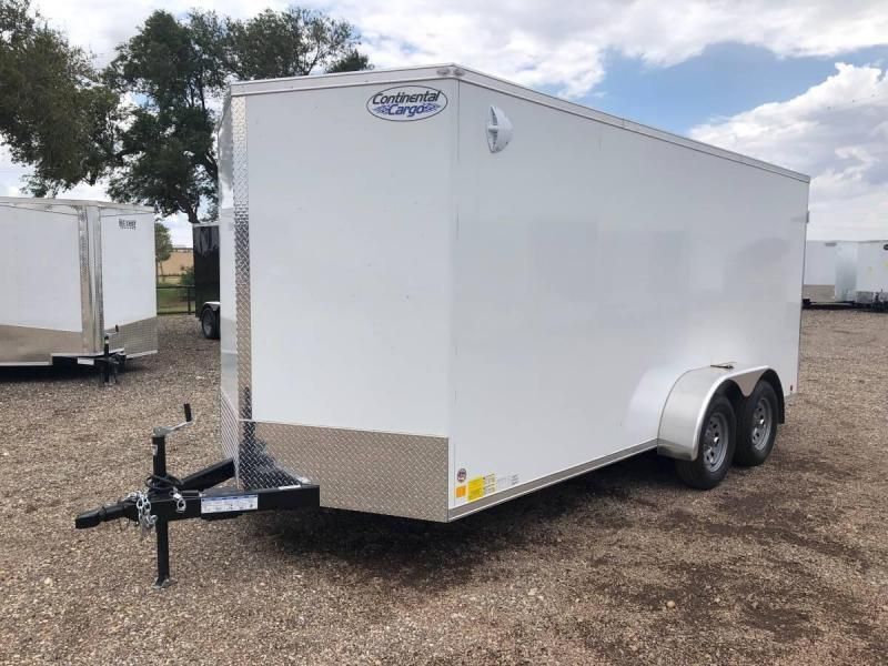 7X16X7 (10K) Enclosed Cargo Trailer - All Steel Construction - E Track - Barn Doors