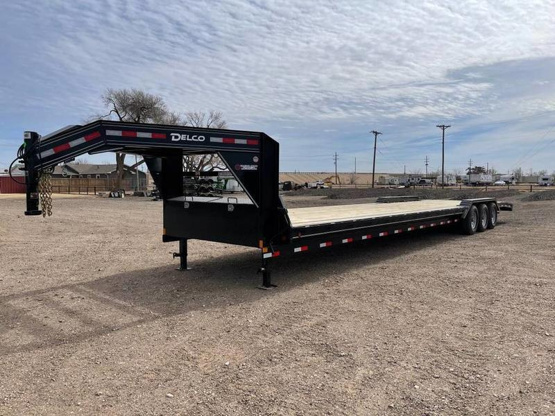 2021 Delco Trailers 102X36 (21K) Gooseneck Equipment Trailer
