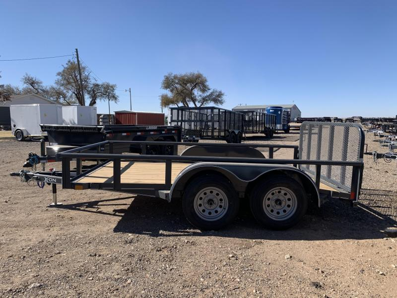 2021 83X12 X-ON Tandem Axle Utility w/Ramp Gate