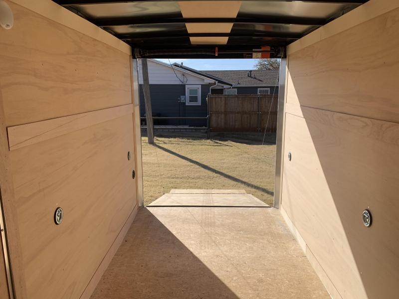 2021 Wells Cargo PP612S2 Enclosed Cargo Trailer
