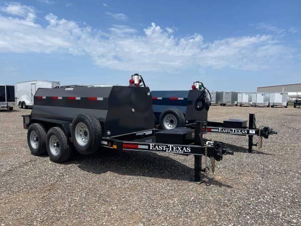 5X10 - 990 Gallon Diesel Tank Trailers - 20 GPM Pump - 14,000 GVWR