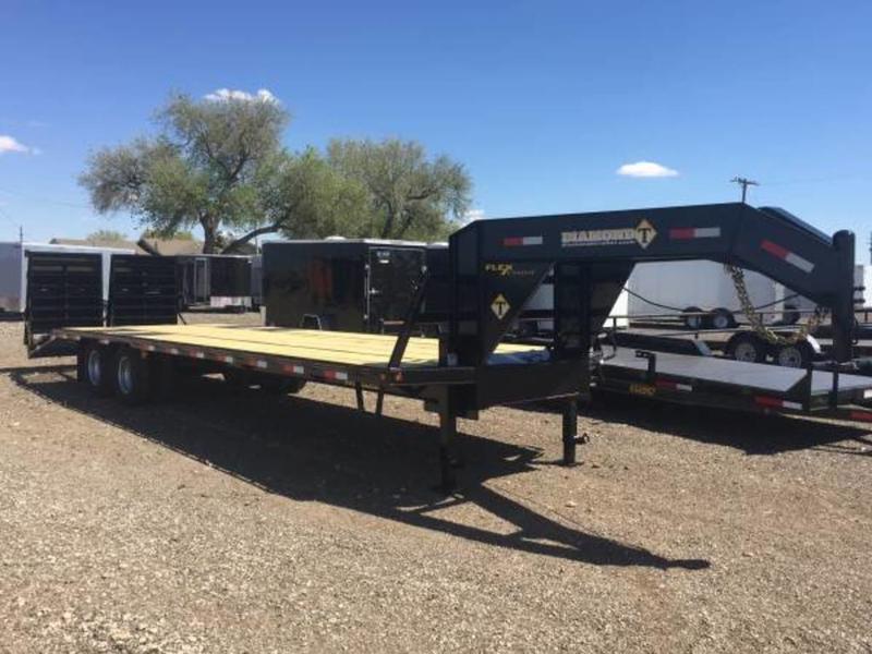2021 Diamond T Trailers 102X25 (24K) Tandem Dual Gooseneck Equipment Trailer