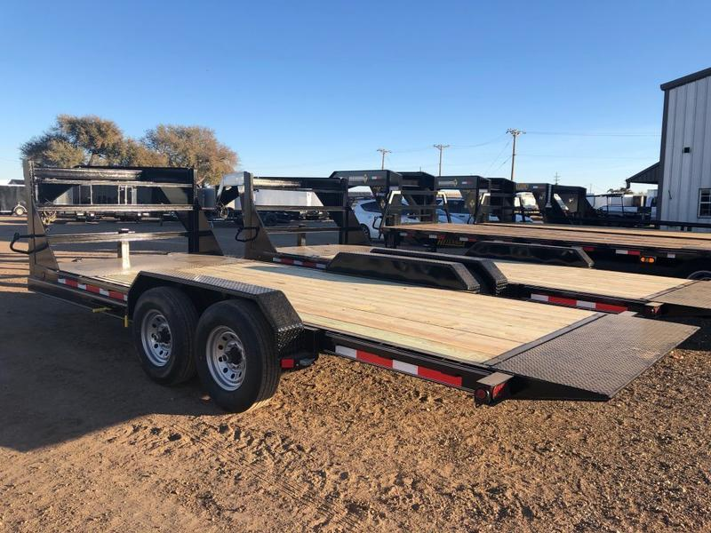 2021 83X20 Buck Dandy (14K) Gooseneck Wood Floor Tilt Trailer