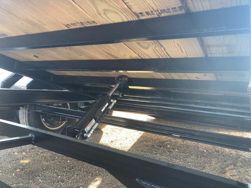 2021 83X20 Buck Dandy (14K) Gooseneck Wood Floor Tilt Trailer