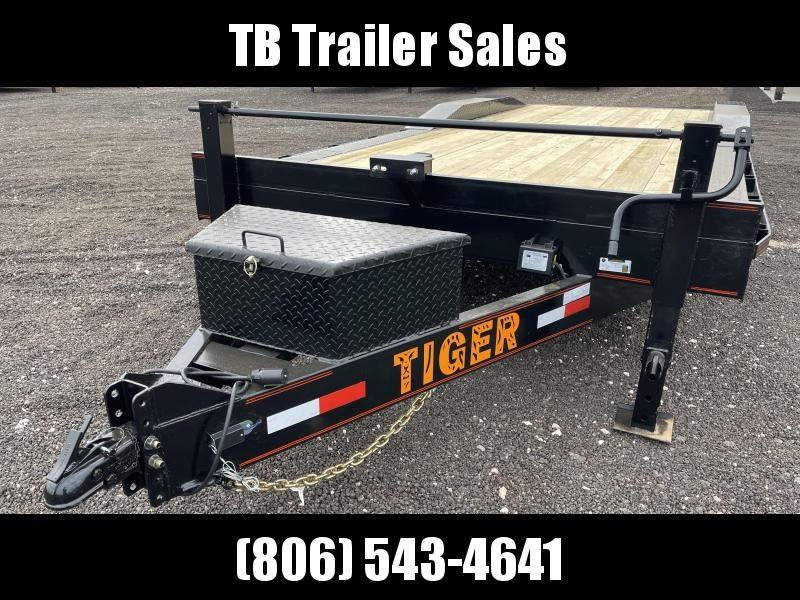 2022 Tiger Equipmer/Drive Over Equipment Trailer