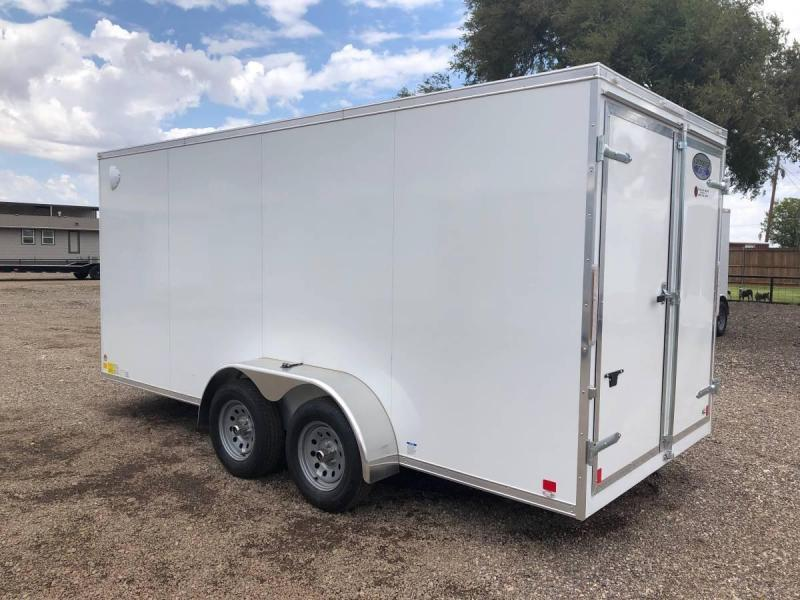 7X16X6.5 (10K) Enclosed Cargo Trailer - All Steel Construction - E Track - Barn Doors