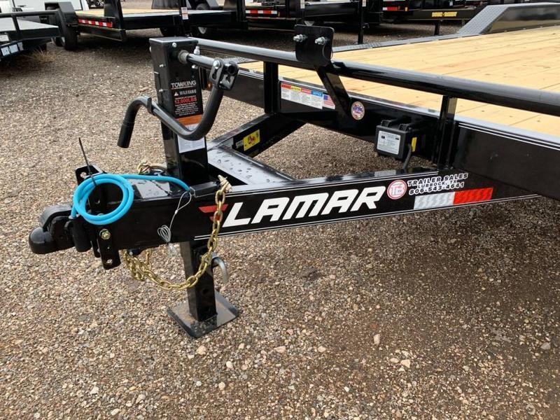 2021 Lamar Trailers 102X22 Drive-Over Fenders Equipment Trailer
