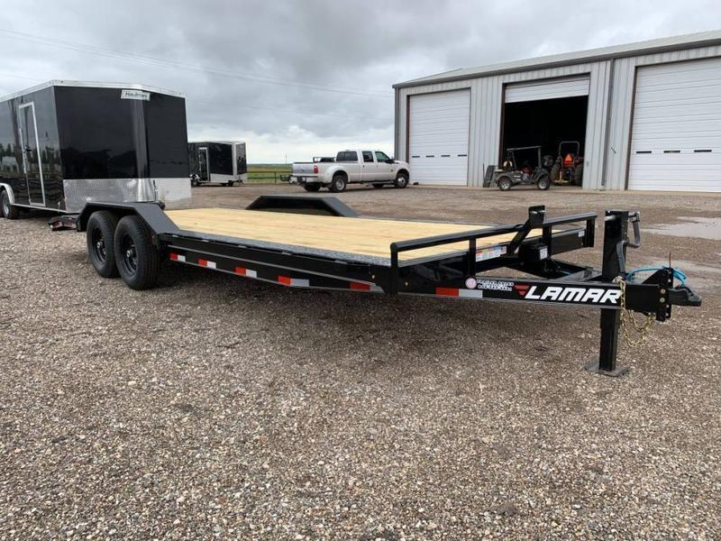 2021 Lamar Trailers 102X22 Drive-Over Fenders Equipment Trailer