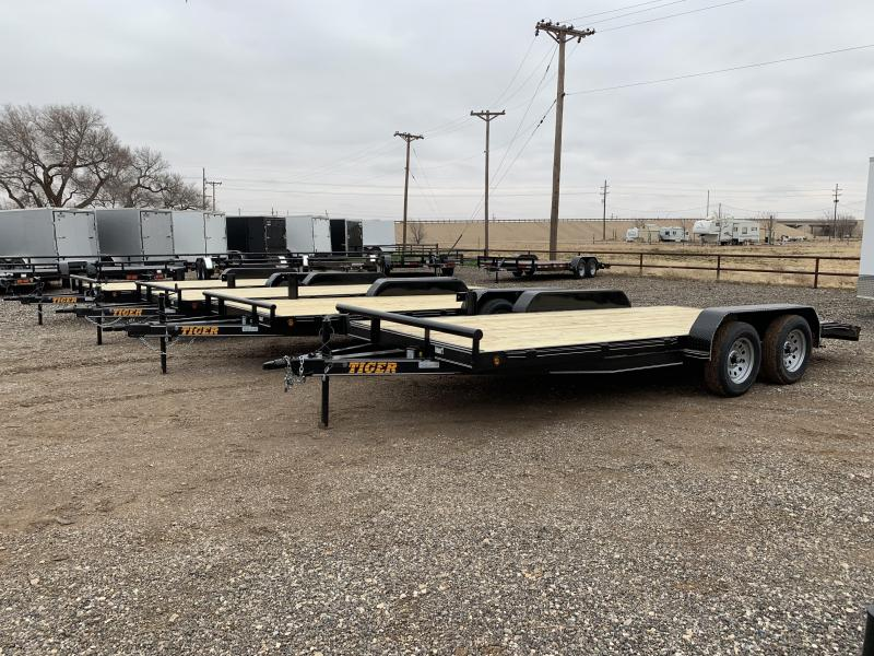 2021 Tiger 83X18 Tiger Car Hauler Car / Racing Trailer