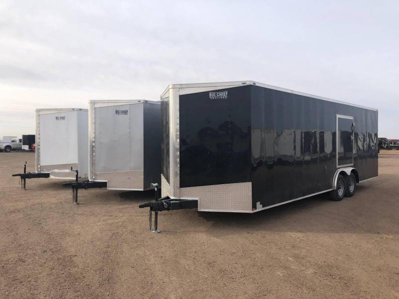 8.5X26 - 7ft Tall - Enclosed Car Hauler