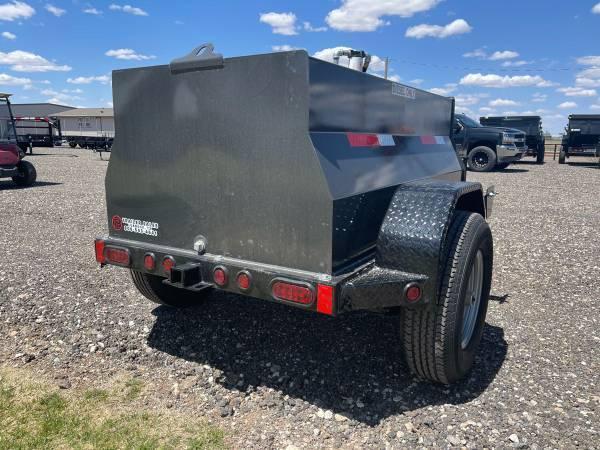2021 East Texas 300 Gallon Diesel Tank Trailer - 6K Axle