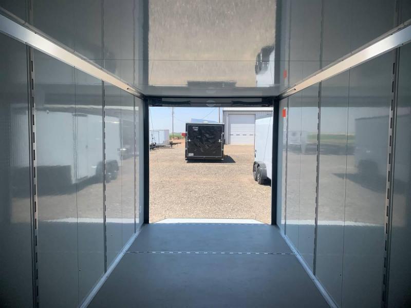 7X16X6.5 Continental Cargo (7K) Steel Enclosed Cargo Trailer w/ Barn Doors
