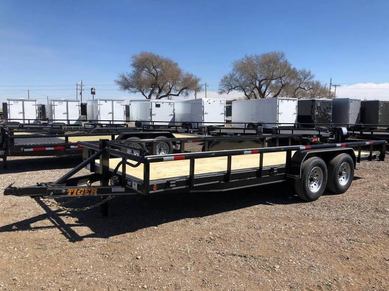 2021 83X20 Tiger Heavy Duty 14K Utility Trailer