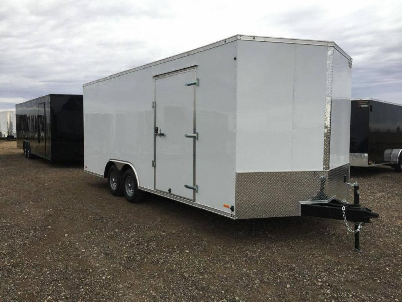 2021 8.5X20X7 Forest River Continental Cargo Enclosed Cargo Trailer / Car Hauler