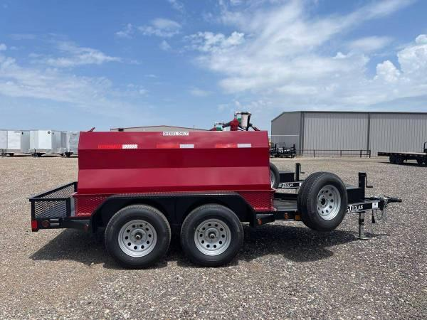 East Texas Trailers 600 Gallon (7K) Diesel Tank Trailer w/ 20GPM Pump