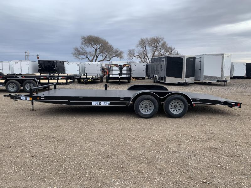 2021 83X18 Buck Dandy Steel Floor Car Hauler