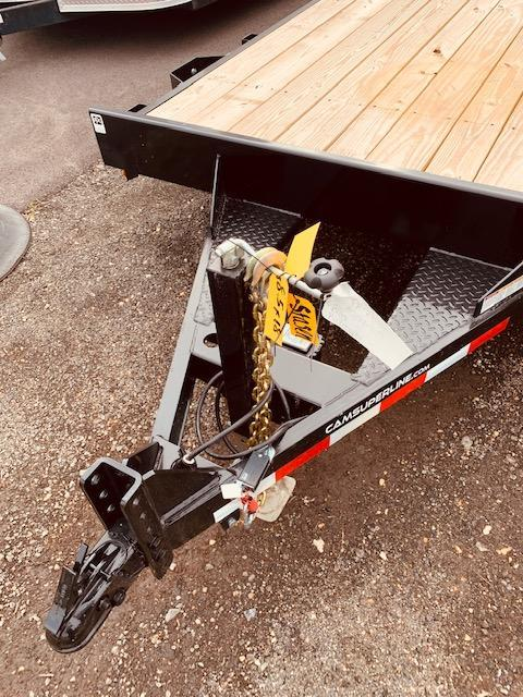"2021 Cam Superline 82"" X 18' 3.5 Ton Car Hauler Trailer 18FT Wood Deck) Flatbed Trailer"