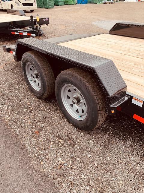 """2020 Cam Superline 82"""" X 18' (3.5 Ton Car Hauler Trailer 18FT Wood Deck) Flatbed Trailer"""