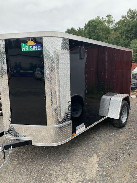 2019 Arising 5' x 10' Soft Nose Single Axle Enclosed Cargo Trailer