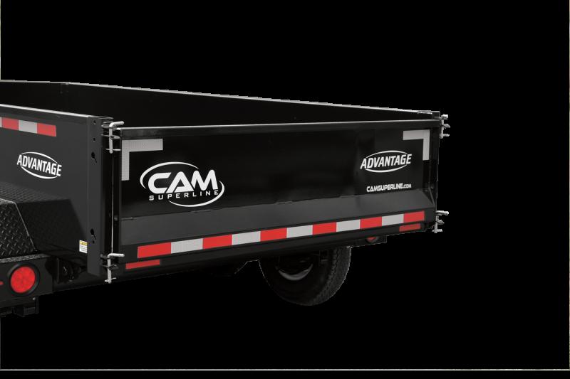2020 Cam Superline 6' x 12' Dump Trailer