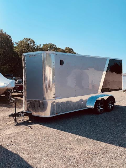 2020 Arising 7' X 16' 7'6 Enclosed Cargo Trailer