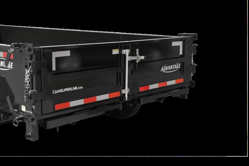 2022 Cam Superline 7' x 14'  7 Ton Advantage HD Low Profile Dump Trailer