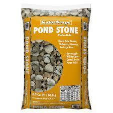Kolor Scape Bagged Pond Stone
