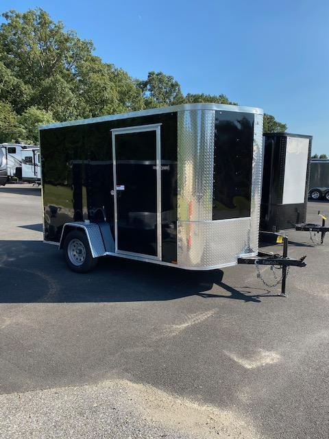 2021 Arising 6' x 10' Black Enclosed Cargo Trailer