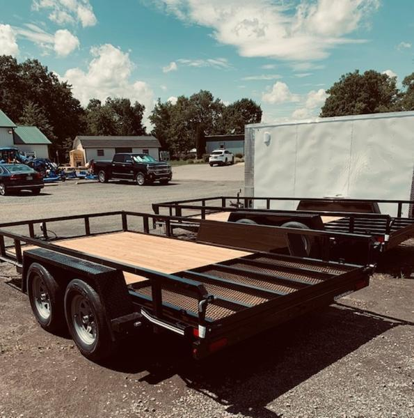 2021 Cam Superline 7' x 14' Landscape Trailer
