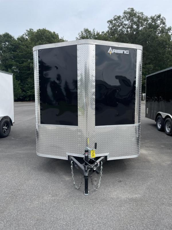 2021 Arising 7' X 16' Tandem Axle Enclosed Cargo Trailer