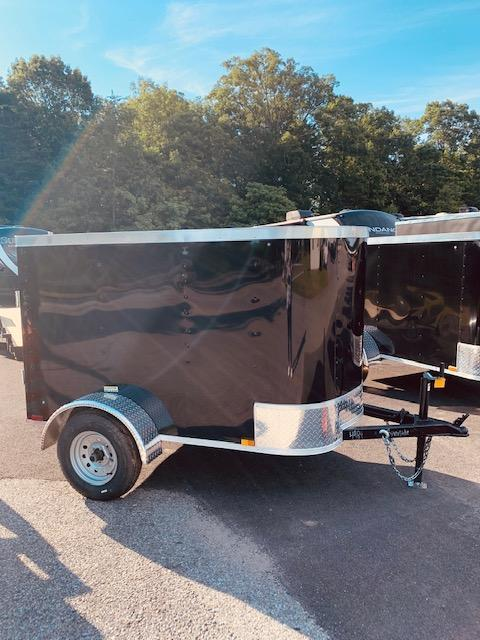 2020 Arising 4' x 6' Soft Nose Single Axle Enclosed Cargo Trailer