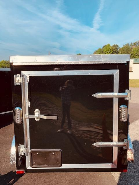 2020 Arising 4' x 6' Soft Nose Single Axle Enclosed Cargo Trailer
