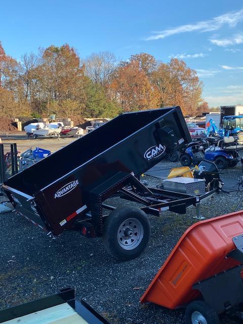 2021 Cam Superline 5' x 8' Low Pro Dump Trailer
