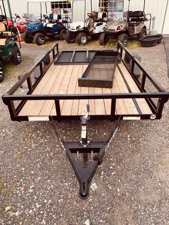2020 Cam Superline 6' x 12' Landscape Trailer