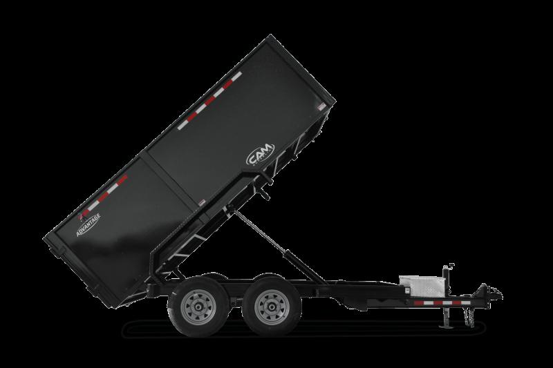 2021 Cam Superline 6' X 12' (10K Advantage Low Profile Dump Trailer 6x12) Dump Trailer